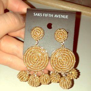 Saks Fifth Avenue Chandelier earrings